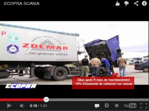 ecopra kit on a scania truck
